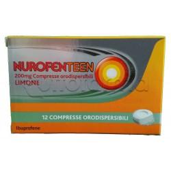 Nurofenteen Antinfiammatorio 12 Compresse Orosolubili Gusto Limone 200mg