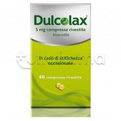 Dulcolax 40 Compresse 5 Mg per Stitichezza