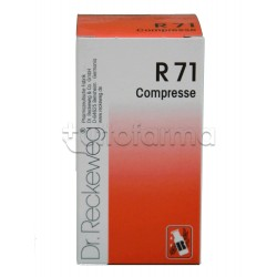 Dr. Reckeweg R71 Compresse Orosolubili Omeopatiche 100 Compresse