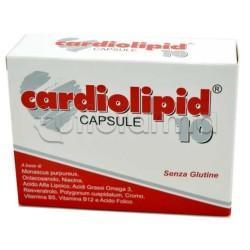 Shedir Cardiolipid 10 Integratore per Abbassare Colesterolo 30 Capsule