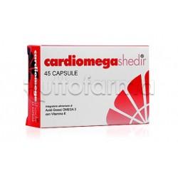 Shedr Cardiomega Integratore per Abbassare i Trigliceridi 30 Capsule Molli