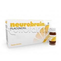 Shedir Neurobrain Integratore per Memoria e Concentrazione 10 Flaconcini