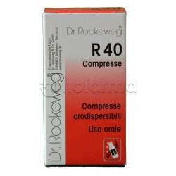 Dr. Reckeweg R40 Compresse Orosolubili Omeopatiche 100 Compresse
