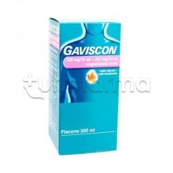 Gaviscon Sospensione Orale 500 + 267 mg/10 ml per Bruciore di Stomaco e Reflusso