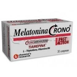 Chemist's Research Melatonina Crono Integratore perSonno 30 Compresse