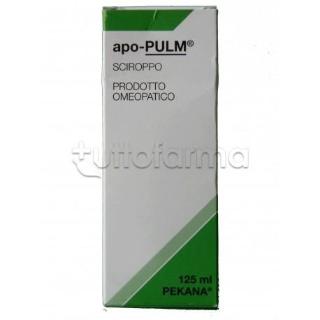 Pekana apo-PULM Omeopatico Spagirico Sciroppo 125ml