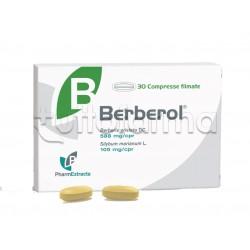Berberol Integratore per Abbassare Glicemia e Colesterolo 30 compresse