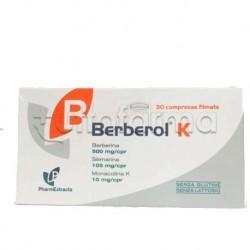 Berberol K Integratore per Abbassare Colesterolo e Trigliceridi 30 compresse