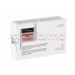 Cosmetici Magistrali Dermolipid Oral Integratore per Metabolismo dei Lipidi 30 Capsule Molli