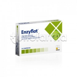Named Enzyflat Integratore per Gonfiore 30 Compresse