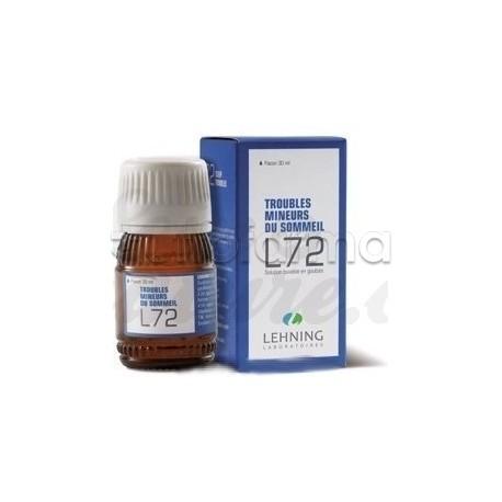 Lehning L72 Medicinale Omeopatico Gocce Orali 30ml