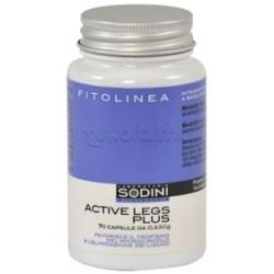 Sodini Active Legs Plus Integratore per Gambe Pesanti 70 Capsule