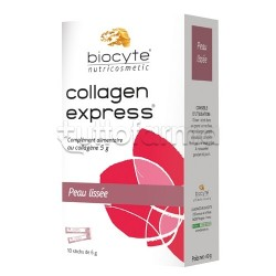 Biocyte Collagen Express Integratore per Pelle 10 Bustine