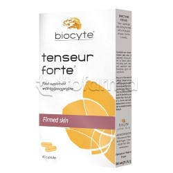 Biocyte Tenseur Forte Integratore per Pelle 40 Capsule