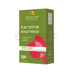 Biocyte Keratine Express Integratore per i Capelli 10 Bustine