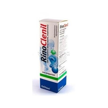 Rinoclenil Spray 200 Erogazioni 100 mcg per Riniti Croniche o Allergiche