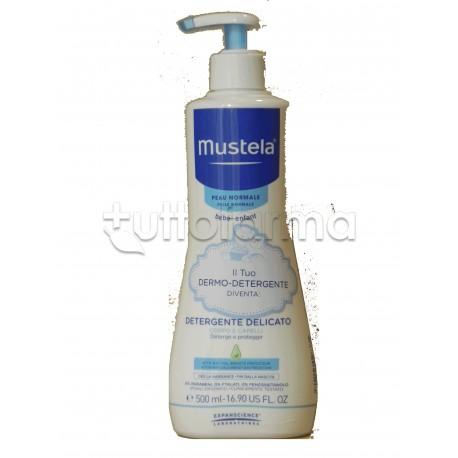 Mustela Detergente Delicato in Gel Capelli e Corpo Pelle Normale 500 ml
