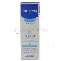 Mustela Hydra Bebe Crema Idratante per il Viso Pelle Normale 40 ml