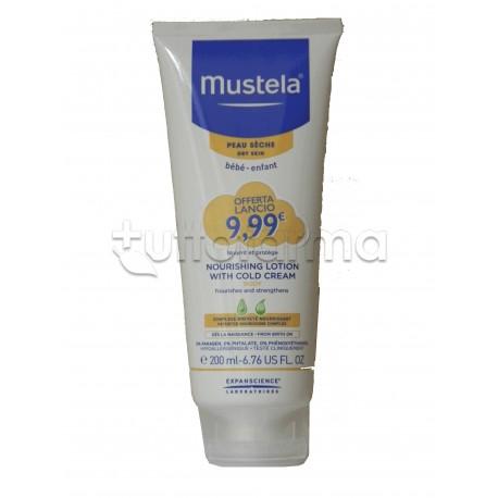 Mustela Latte Idratante Corpo alla Cold Cream per Pelle Secca 200ml