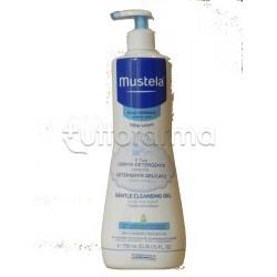 Mustela Detergente Delicato in Gel Capelli e Corpo Pelli Normali 750 ml