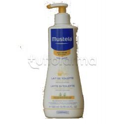 Mustela Latte di Toilette Detergente per Bebè Flacone da 500 ml
