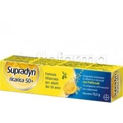 Supradyn Ricarica 50+ Integratore Vitamine e Minerali 15 Compresse Effervescenti