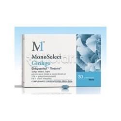 Monoselect Ginkgo Integratore per Circolazione e Memoria 30 Compresse