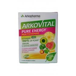Arkovital Pure Energie Integratore di Vitamine e MInerali 30 Compresse