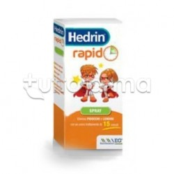 Hedrin Rapid Spray contro Pidocchi e Lendini 60 ml
