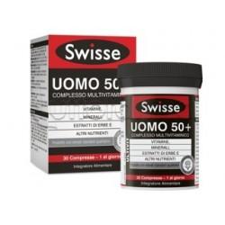 Swisse Uomo 50+ Multivitaminico Integratore per Uomini dai 50 Anni 30 Compresse