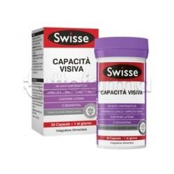 Swisse Capacità Visiva Integratore per Vista e Occhi 30 Capsule