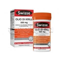 Swisse Olio di Krill Integratore per Cuore e Cervello 500mg 40 Capsule