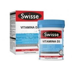 Swisse Vitamina D3 Integratore per Ossa e Denti 100 Capsule