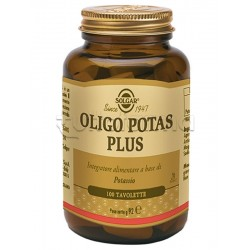 Solgar Oligo Potas Plus Integratore 100 Tavolette