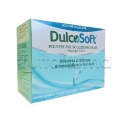 Dulcosoft Polvere per soluzione orale Macrogol 4000 20 bustine