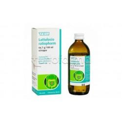 Lattulosio Ratiopharm Sciroppo Lassativo per Stitichezza 66,7% 180ml