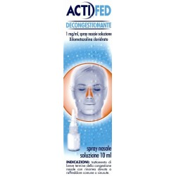 Actifed Nasale Spray Naso Decongestionante 10 ml