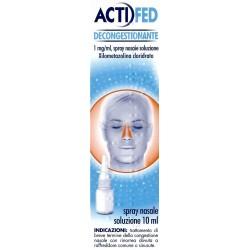 Actifed Nasale Spray Naso Decongestionante 10 ml