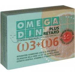 Omegadin Plus Retard Integratore di Omega 30 Capsule