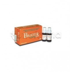 Biovit 3 Energy Integratore ricostituente 10 Flaconcini
