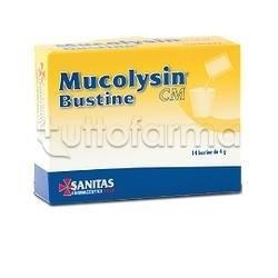 Mucolysin CM Integratore per difese immunitarie 14 Bustine