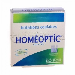 Homeoptic Collirio Medicinale Omeopatico 10 fiale da 0.4ml