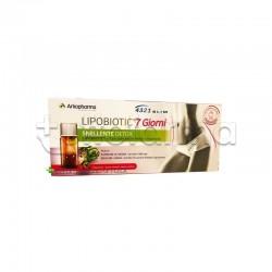 Lipobiotic 7 giorni Integratore Snellente 7 flaconcini