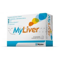 MyLiver Integratore Antiossidante 20 compresse