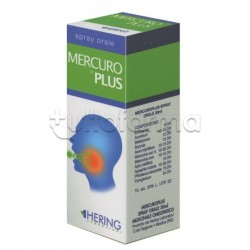 Mercuro Plus Hering Spray Omeopatico