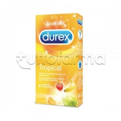 Durex Tropical 6 Profilattici Aromatizzati