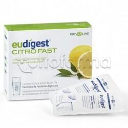 Eudigest Citrfast Integratore per Digestione 12 Bustine