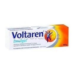 Voltaren Emulgel 1% 150 g Gel Antinfiammatorio per Dolori e Infiammazioni