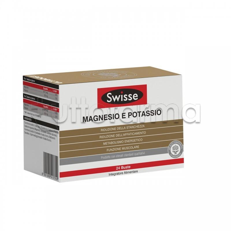 Swisse Magnesio e Potassio Integratore di Sali Minerali 24 Bustine caf5b008efb8