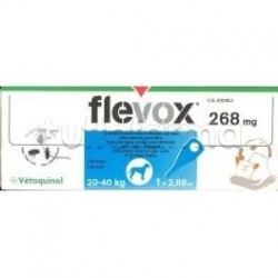 Flevox Cani 1 Pipetta Spot-On da 2,68ml per Cani di Taglia Grossa